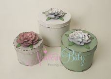 Floral Tin ~ 3 colours